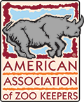Logo: American Association of Zookeepers
