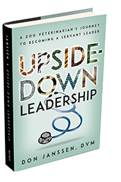 Upside Down Leadership book