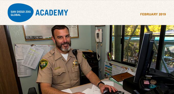 San Diego Zoo Global Academy, February 2019
