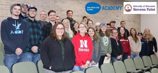 University of Wisconsin training participants