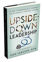Upside-Down leadership book cover