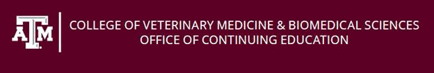 texas A&M College of Veterinary Medicine & Biomedical Sciences, Office of Continuing Education